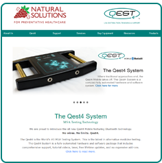 Natural Solutions PHC, Sylvester GA - Website Design